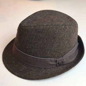 Stetson Brown Wool blend Fedora Hat